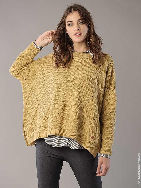 Sweaters otoño invierno 2018 ropa de moda.