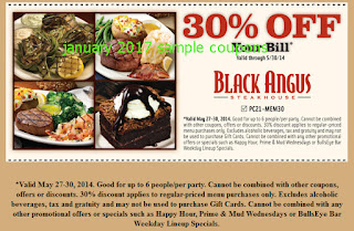Like Black Angus Steakhouse coupons? Try these...