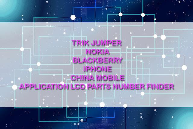 trik Jumper hp bb, nokia dan iphone