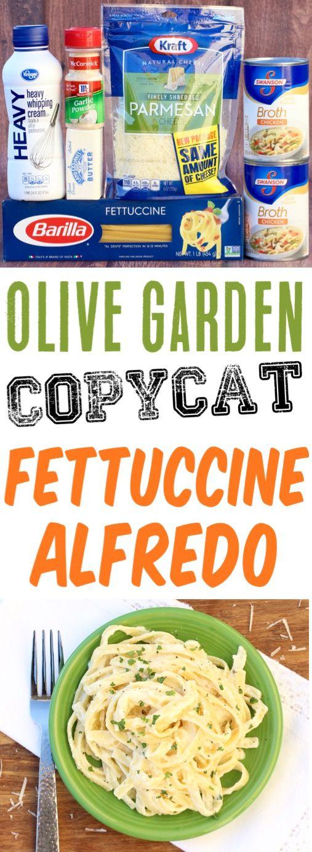 One Pot Fettuccine Alfredo Recipe!