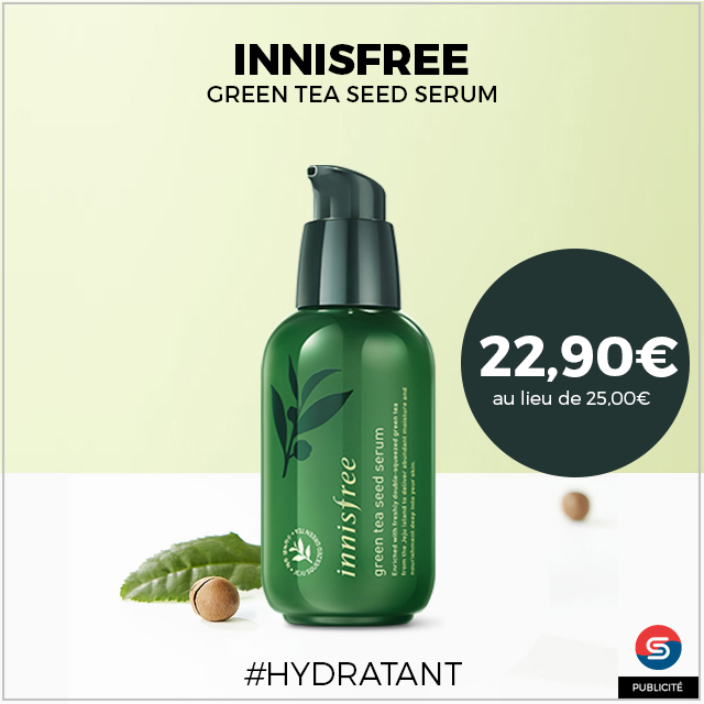 serum green tea sead innisfree