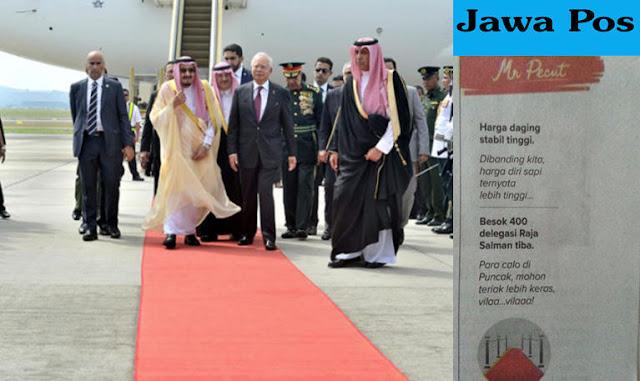Lecehkan 400 Delegasi Raja Salman, Ketua Mualaf Center Indonesia Ultimatum Jawa Pos