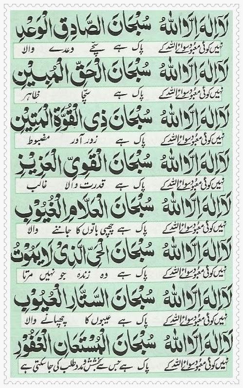 Benefits of Dua Ganj-ul-Arsh | Powerful Wazifa - Dua in