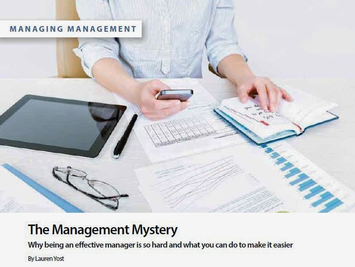 The Management Mystery by Lauren Yost