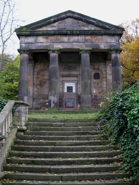 The Nonconformist Chapel, Sheffield General Cemetery © Copyright David Rogers and licensed for reuse under this Creative Commons Licence.