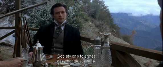 The Prestige Movie Quotes, escape matter