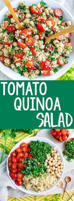Tomato Quínoa Salad