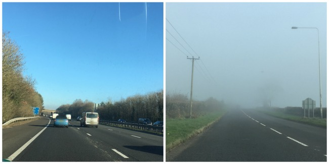 sunshine-on-motorway-and-fog-on-road