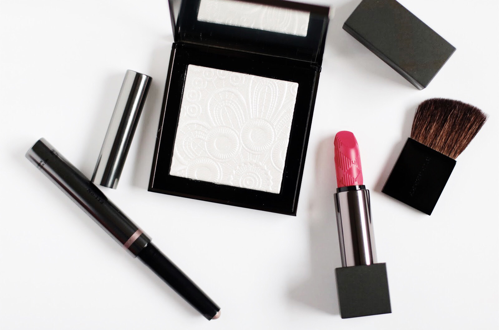burberry collection maquillage printemps 2016 poudre highligter 01 white avis test swatches