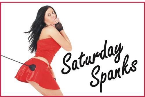 Saturday Spanks banner