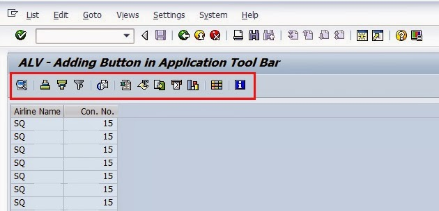 ABAP - Learner's Guide: Step by Step Procedure to add Button