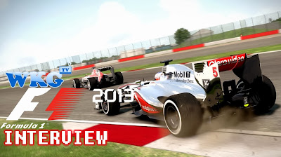 F1 2013 Interview - Designer Greg Pryjmachuk