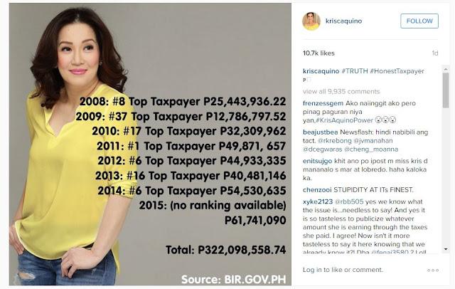 Kris Aquino Instagram posts