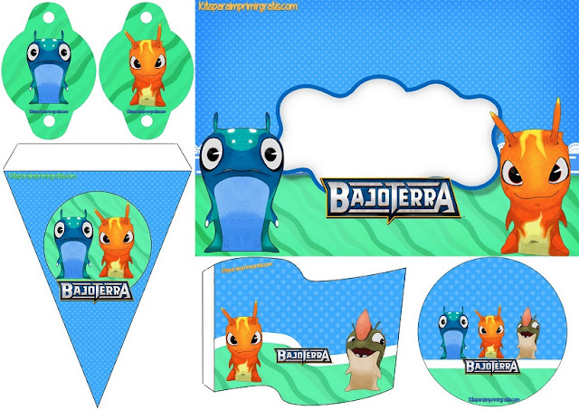 Bajoterra: Mini Kit para Imprimir Gratis.