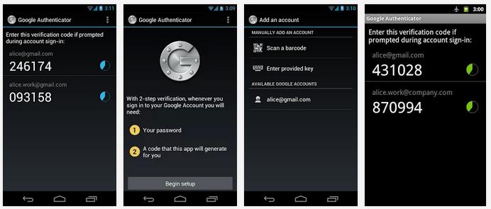 تحميل وشرح أداة مصادقة جوجل للأندرويد لحماية حسابك من إلاختراق Google Authenticator APK 2-49