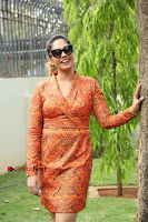 Actress Mumtaz Sorcar Stills in Short Dress at Guru Movie Success meet  0254.JPG