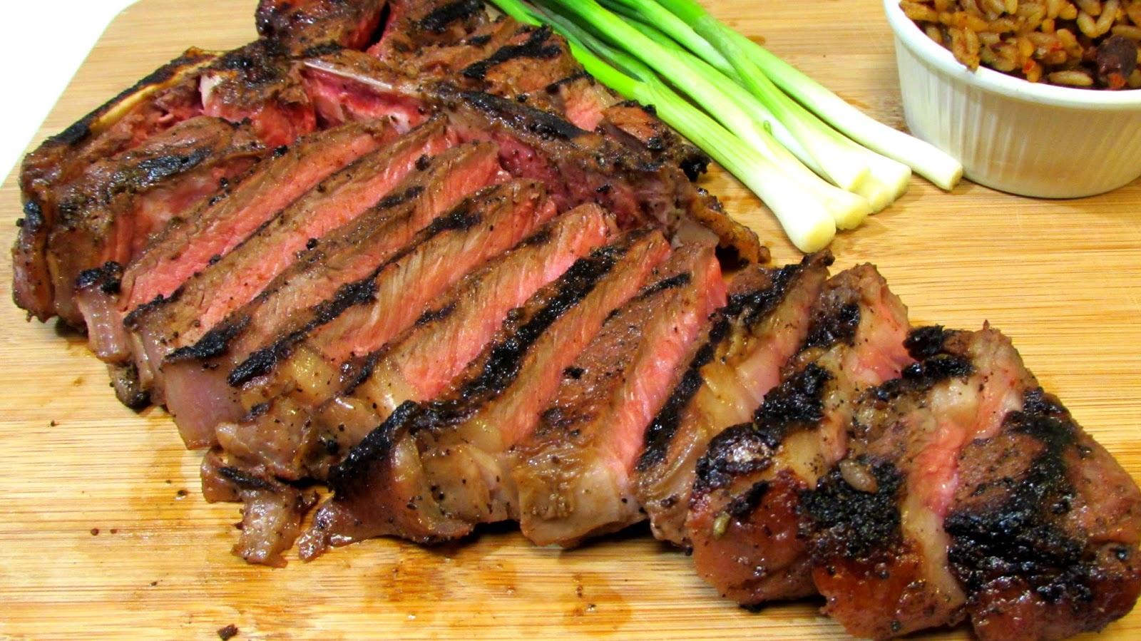 The Wolfe Pit: Fajita Marinated T-Bone Steaks - How to ...