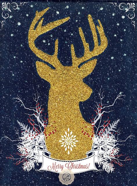 Descarga gratis esta lámina de arte navideña!
