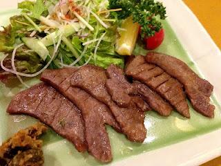 Gyutan Yaki ; Grilled Beef Tongue