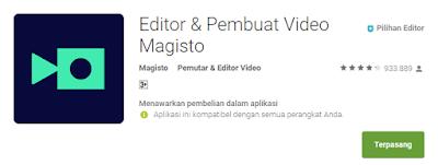 Magisto - Aplikasi Android Edit Video Terbaik