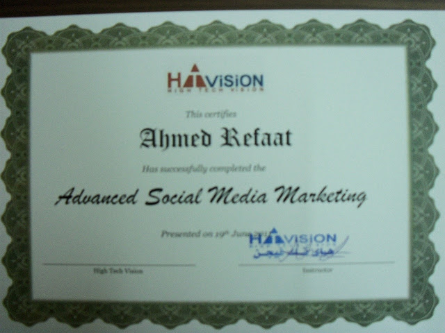 Advanced Social Media Marketing Course - Egypt