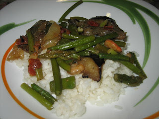 Receta para bebés: arroz blanco con salteado de verduras