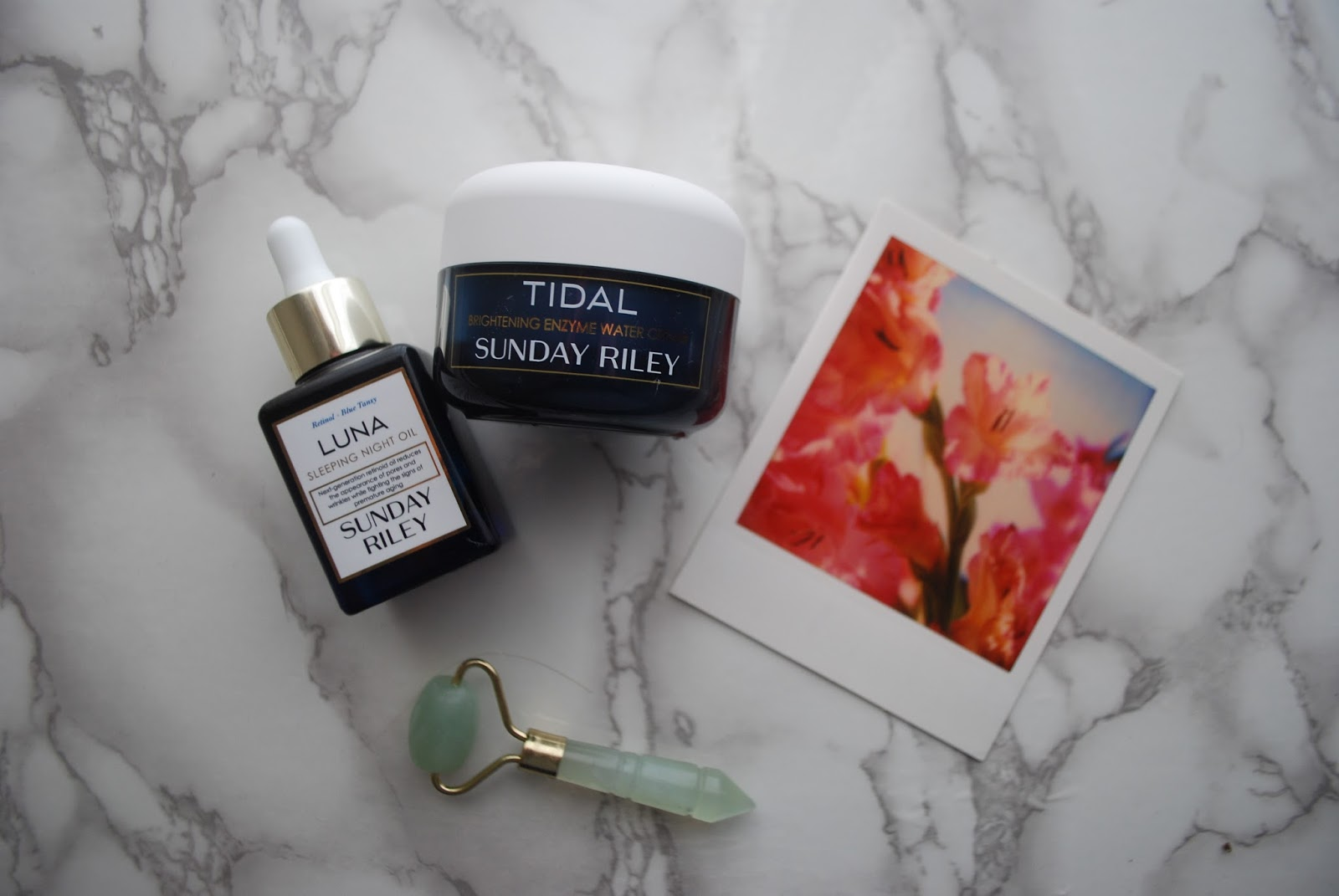 Sunday Riley nighttime skincare Sunday Riley luna oil Sunday Riley tidal cream nighttime skincare retinol