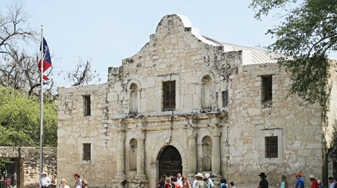 Alamo Mission San Antonio Texas
