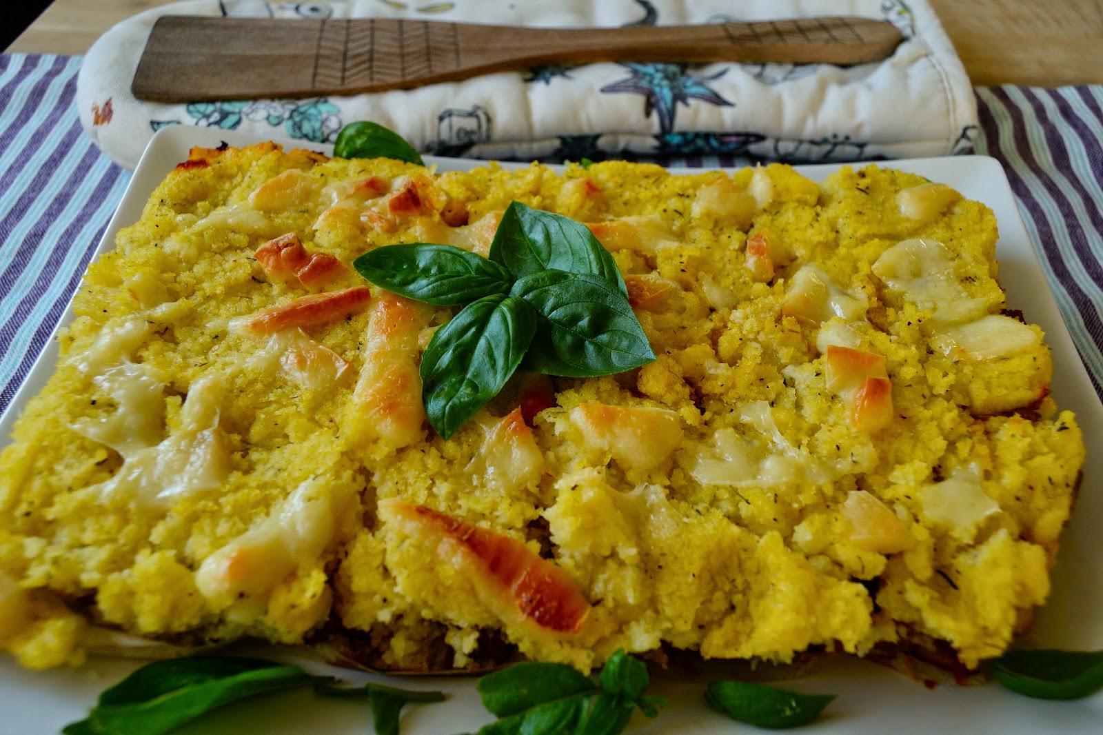Pastel de polenta relleno de verduras cocinar para nutrir for Cocinar a 40 grados