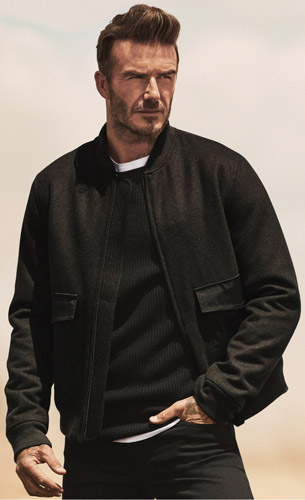 chaqueta masculina Modernos Esenciales David Beckham