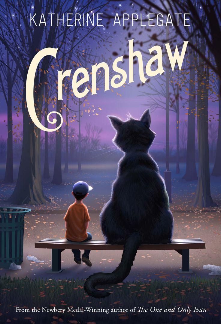 portada del libro Crenshaw, de Katherine Applegate