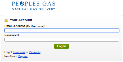 Peoples Gas Login Account
