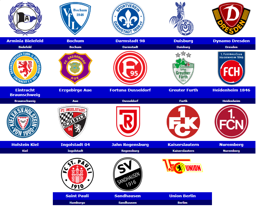 Download Bundesliga 2 Logo
