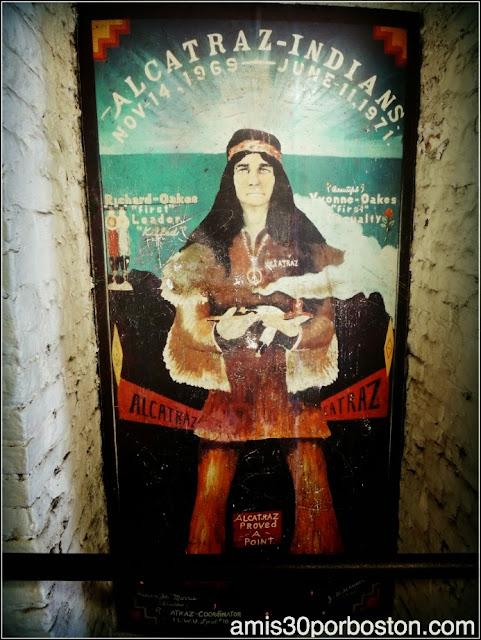 La Isla de Alcatraz: Indígenas