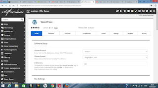 setup wordpress