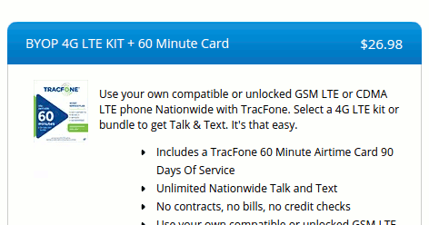 TracFone AT&T GSM