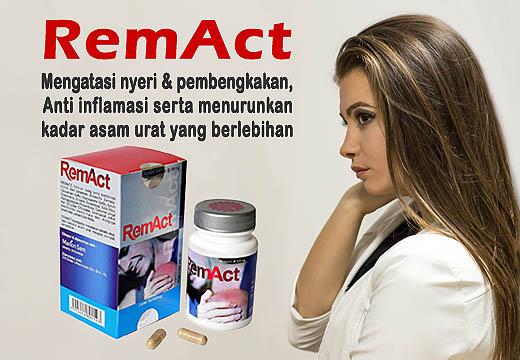 REMACT untuk menurunkan kadar asam urat berlebih