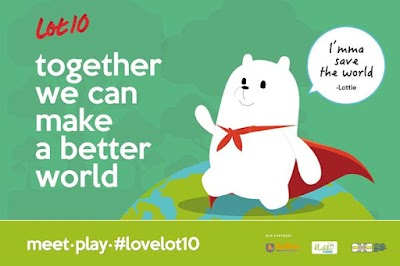LOT 10 Celebrates Earth Hour and Together We Can Make A Better World