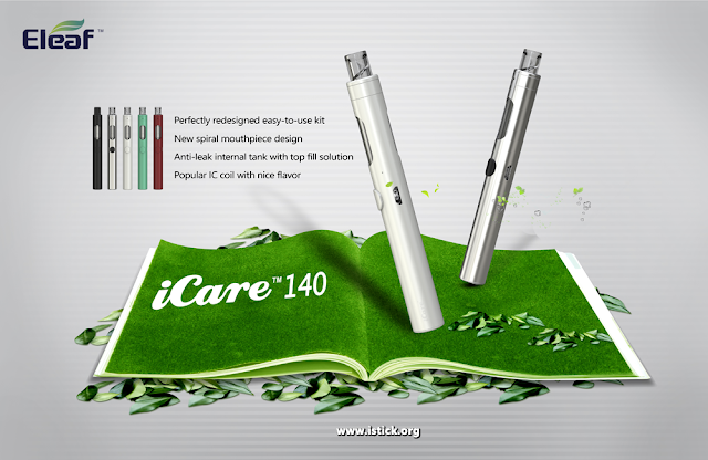 How to use iCare 140 Vape pen kit correctly