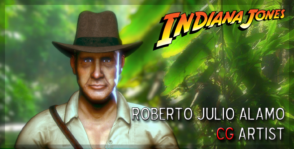 W I P  - Indiana Jones and the Book of Shadows ~ Roberto