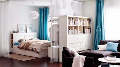 cómo hacer una división en una recámara dormitorio cuarto