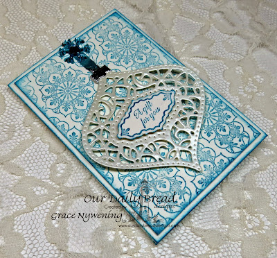 Our Daily Bread Designs, Ornate Background, Ornate Border Sentiments, Ornate Borders and flowers