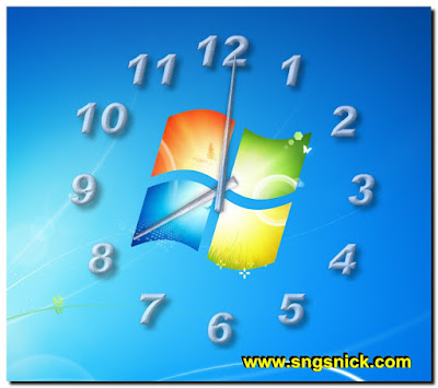 TheAeroClock 4.05 - Еще один пример вида часов