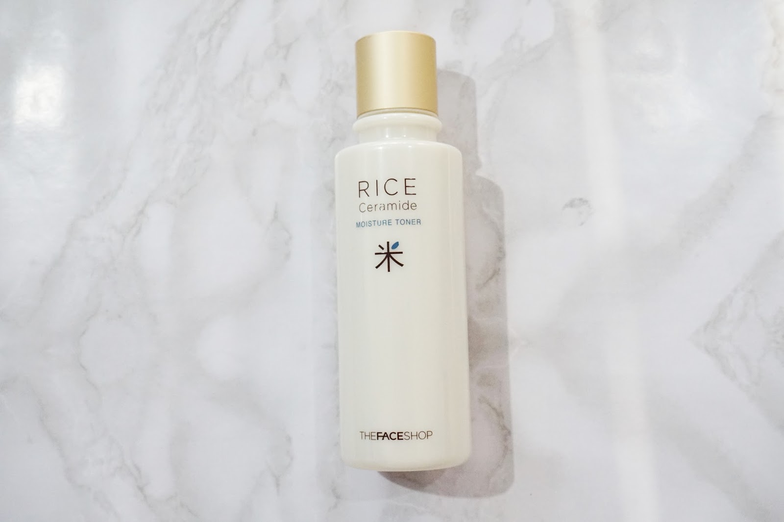 the face shop rice ceramide moisture toner review