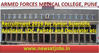 afmc+pune+recruitment+2016
