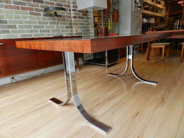 Zig Zag Dyrlund Rosewood Dining Table Sold