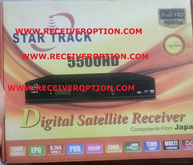 STAR TRACK 5500HD RECEIVER AUTO ROLL POWERVU KEY NEW SOFTWARE