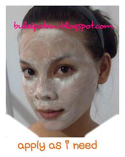 kegunaan Ovale Facial Mask in Yam Bean