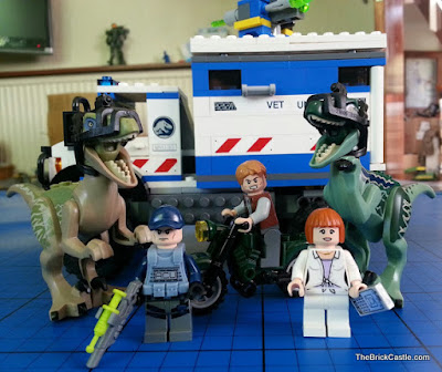 Father's Day gift idea lego Jurassic World Dinosaur Raptor set