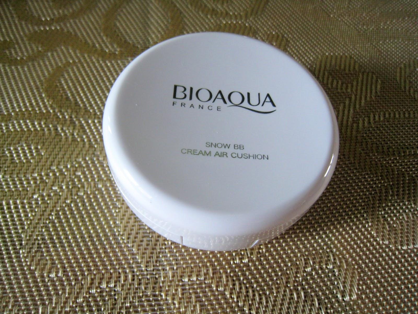 Bioaqua Air Cushion Bb Cream Moisturizing Makeup Review By Elgr Nail Bio Aqua Aircusion Im Not Sure Why It Says France Definitely Came From China